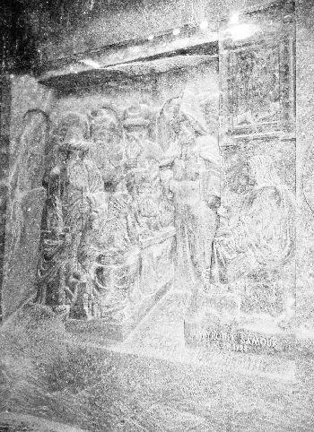 2005-WieliczkaSaltMine_Chapel_Relief_12yearJesues
